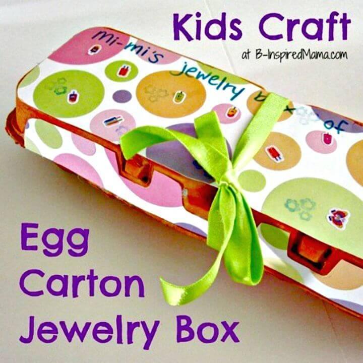 DIY Jewelry Box Gift For Grandma