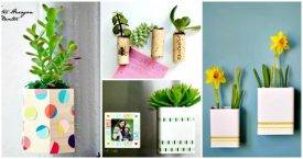 DIY Magnetic Planter Ideas - DIY Planter Ideas - DIY Garden Projects - DIY Crafts - DIY Projects