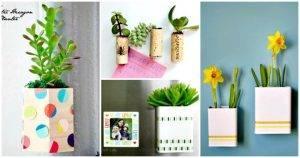 DIY Magnetic Planter Ideas - DIY Planter Ideas - DIY Garden Projects - DIY Crafts - DIY Projects