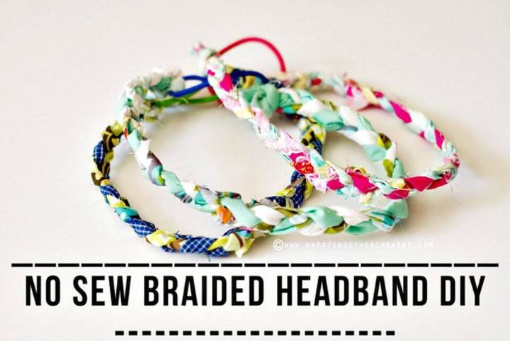 DIY No Sew Braided Headbands