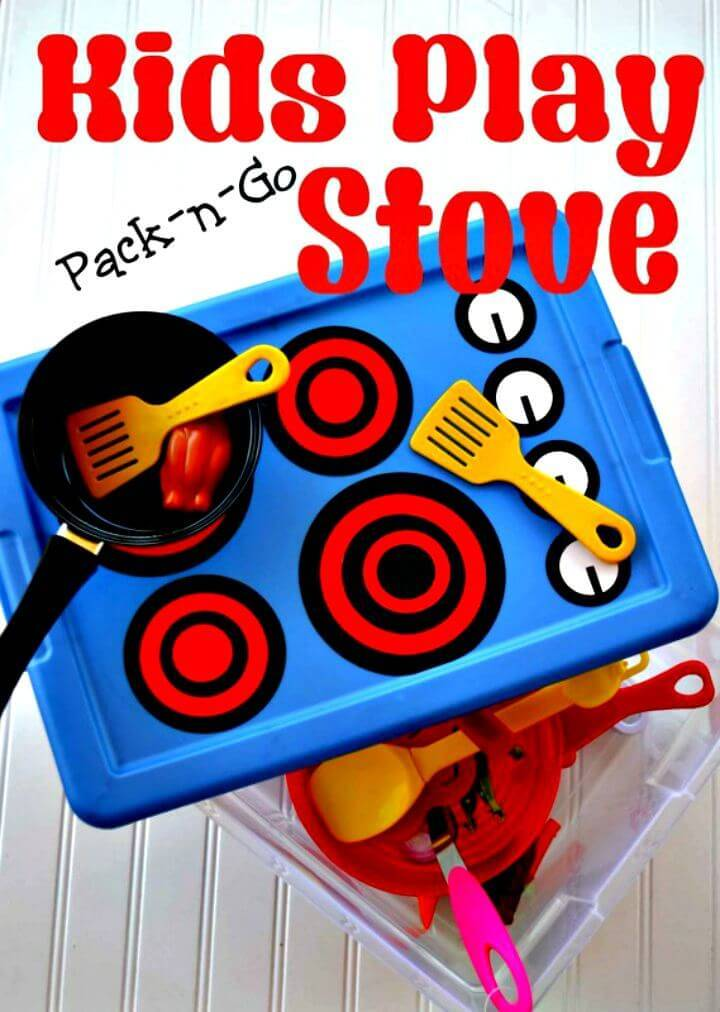 DIY Pack-n-Go Kids Play Stove