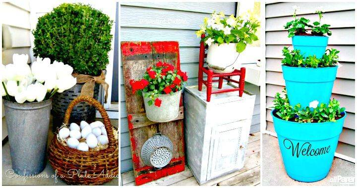 DIY Patio & Porch Decor Ideas - DIY Home Decor Ideas - DIY Crafts - DIY Projects - Easy Craft Ideas - Patio Decoration