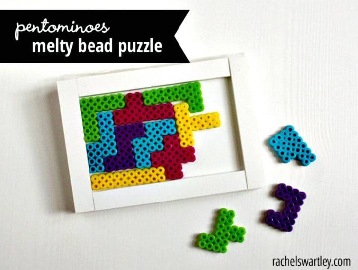 DIY Pentominoes Melty Bead Puzzle