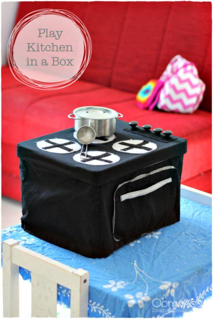 DIY Play Kitchen in a Box - Sewing Tutorial
