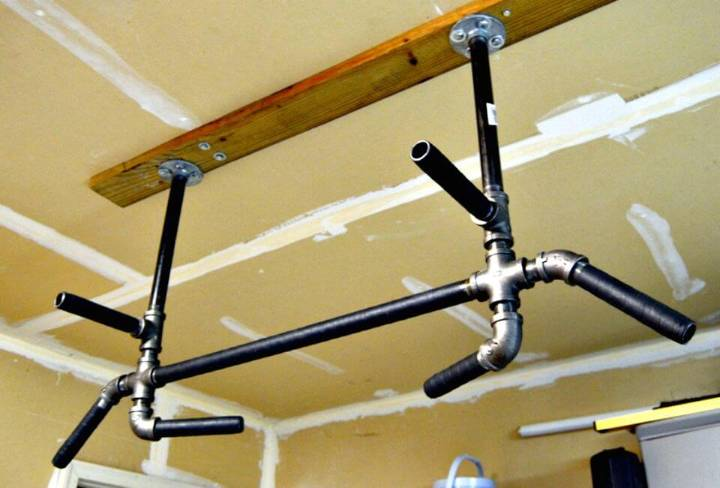 DIY Pull Up Bar – DIY Gym Equipment Projects