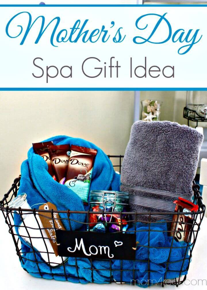 DIY Spa Basket - Mother's Day Gift Idea