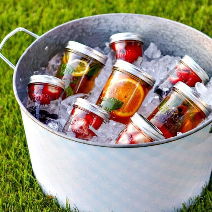 DIY Summertime Sun Tea for Summer Party