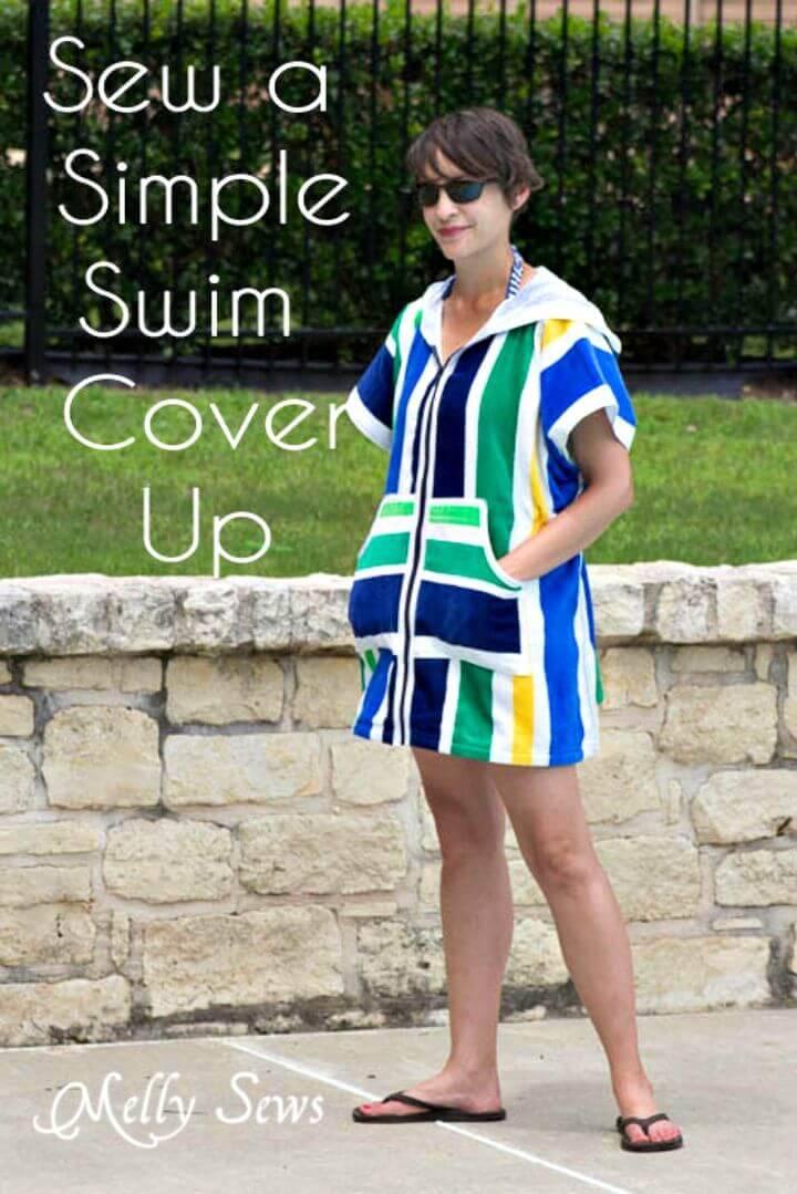 Simple to Sew Swim Cover-up - DIY Tutorial