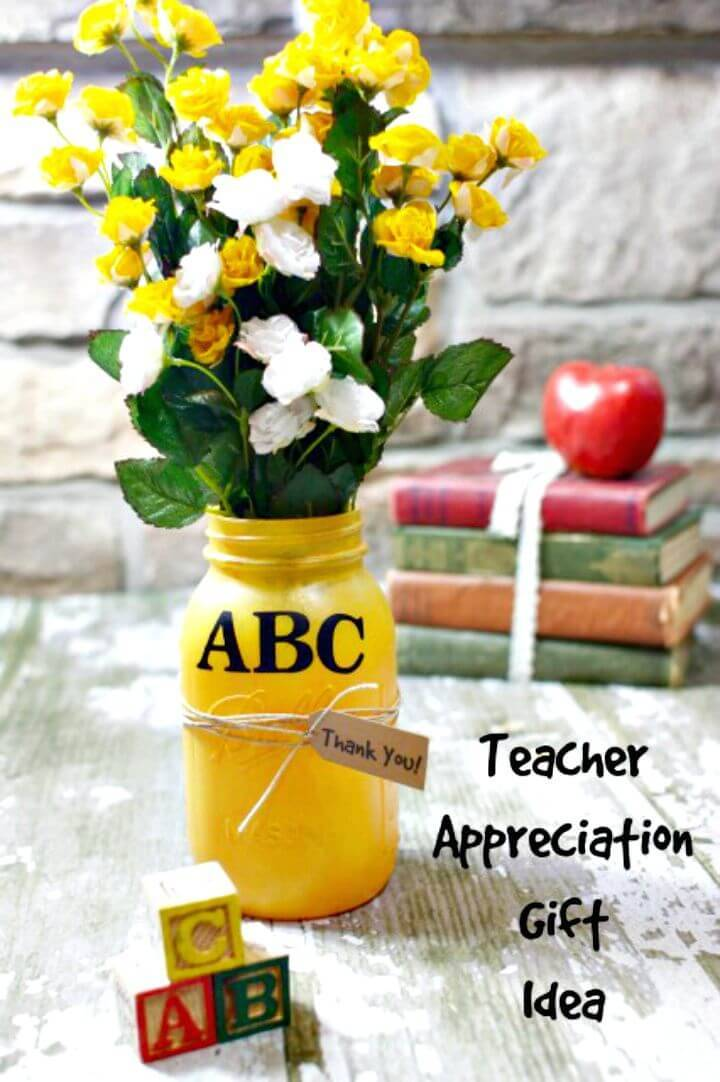 DIY Teacher Appreciation Gift Idea