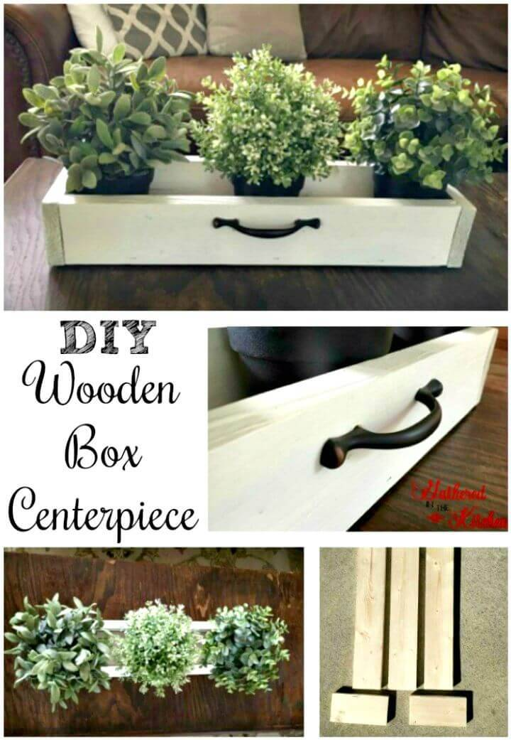 How to Build Wooden Box Centerpiece for Under $5