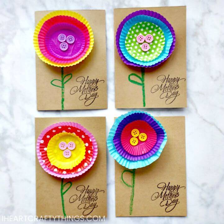Easy and Cute DIY Mother's Day Card
