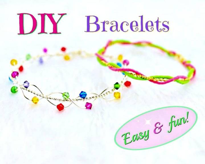 Easy DIY Bracelets and No Tools