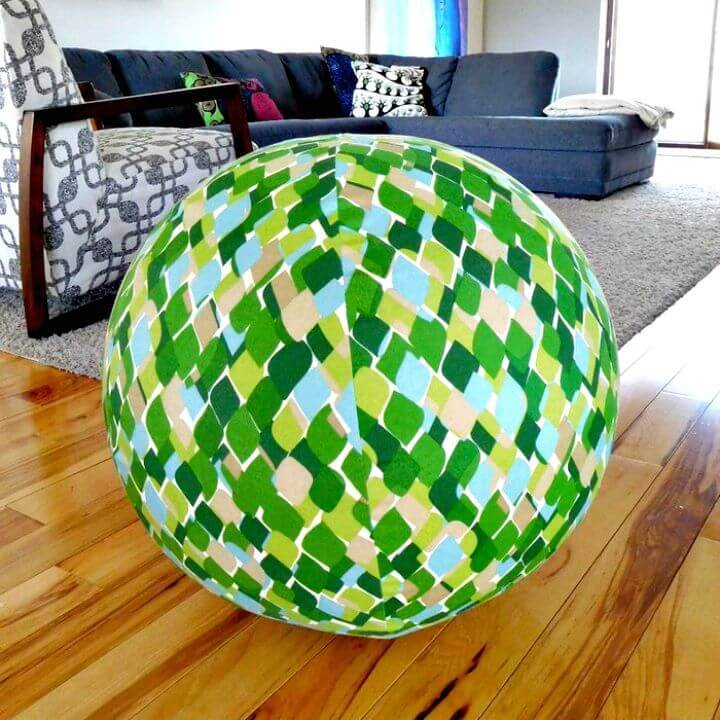 How to Make Exercise Ball Cover - DIY Gym Equipment Projects