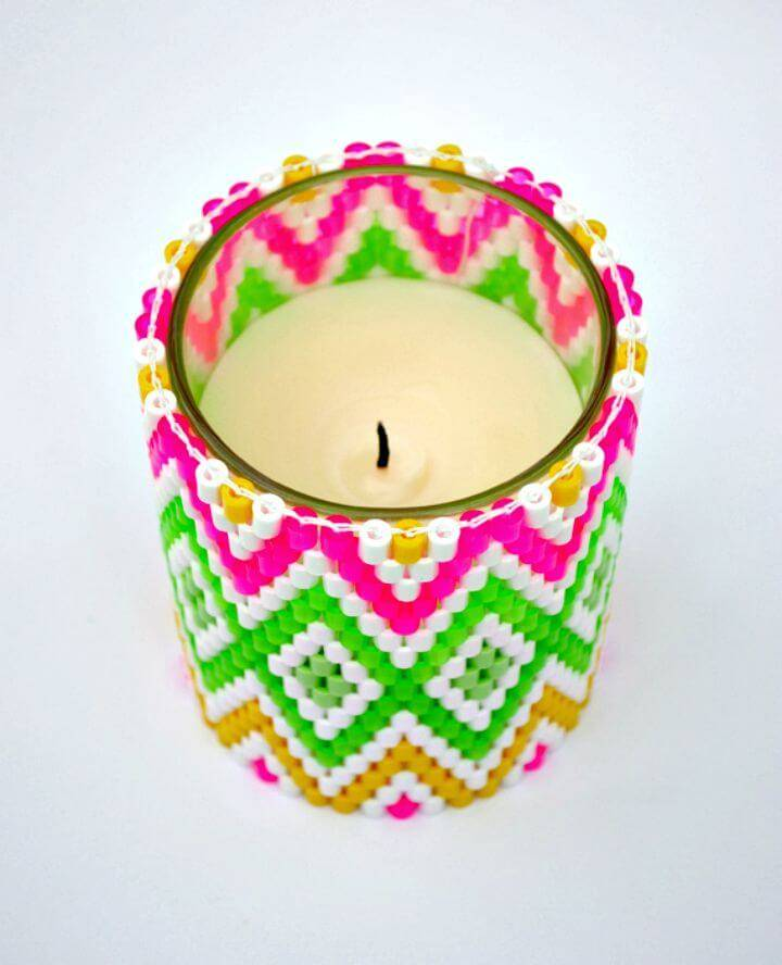Easy DIY Hama Bead Weaving - Home Decor Ideas