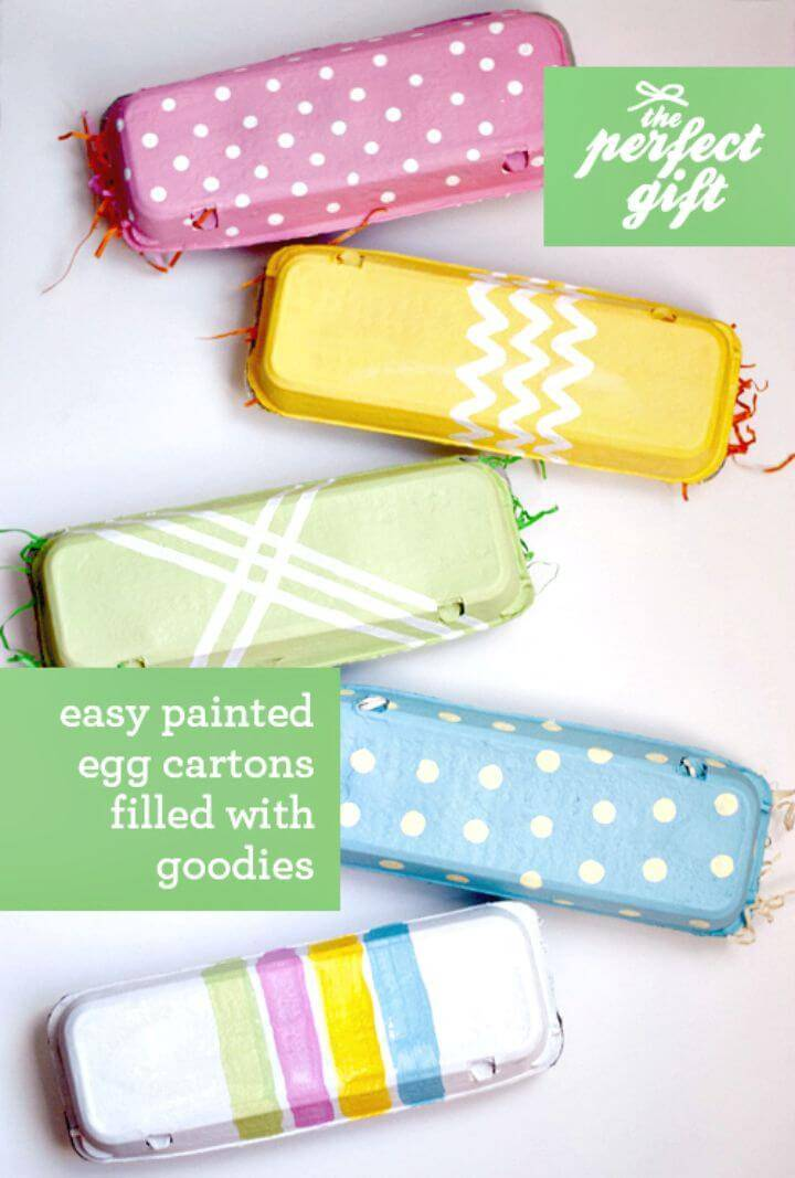 Easy DIY Painted Egg Cartons - The Perfect Gift