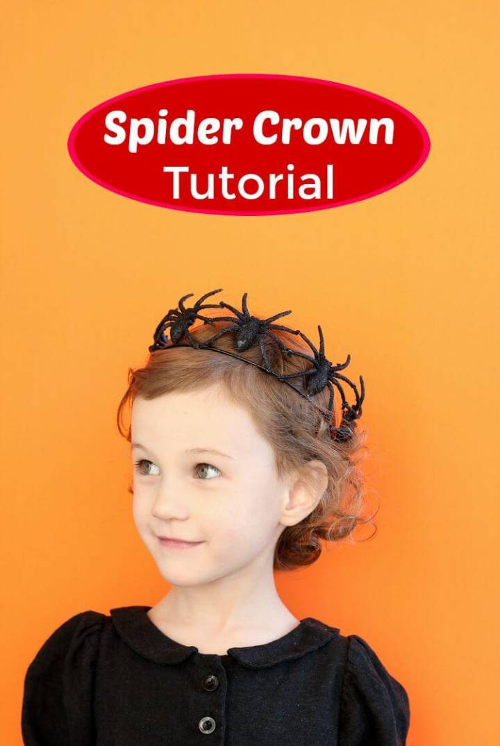 How to DIY Spider Crown for Your Little Princess