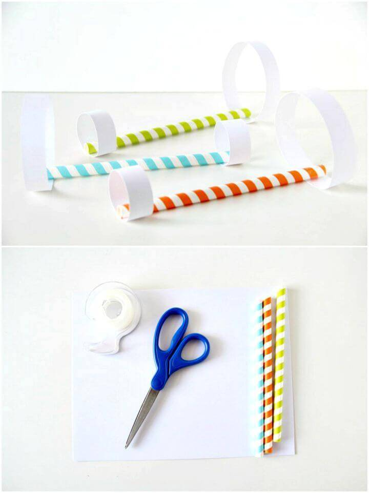 Awesome DIY Straw Paper Airplanes