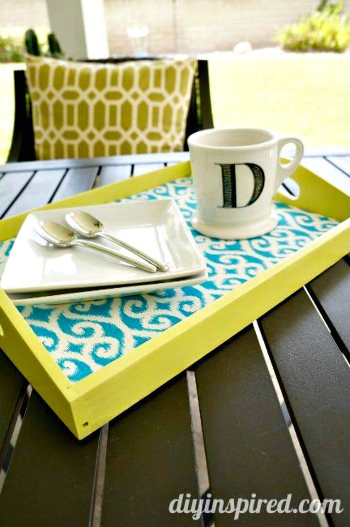 Easy and Simple DIY Serving Tray