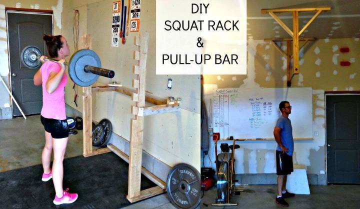 Adorable DIY Crossfit Garage Gym