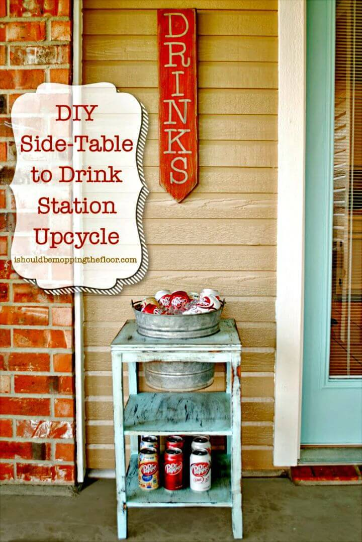 How To Build Drink Station