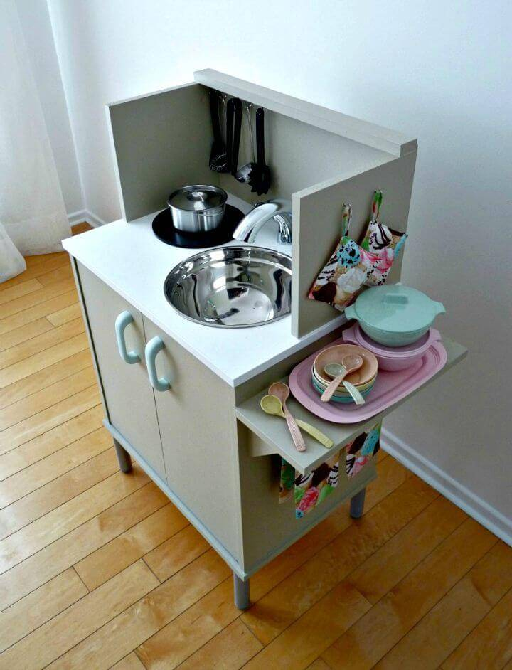 How To Build Play Kitchen