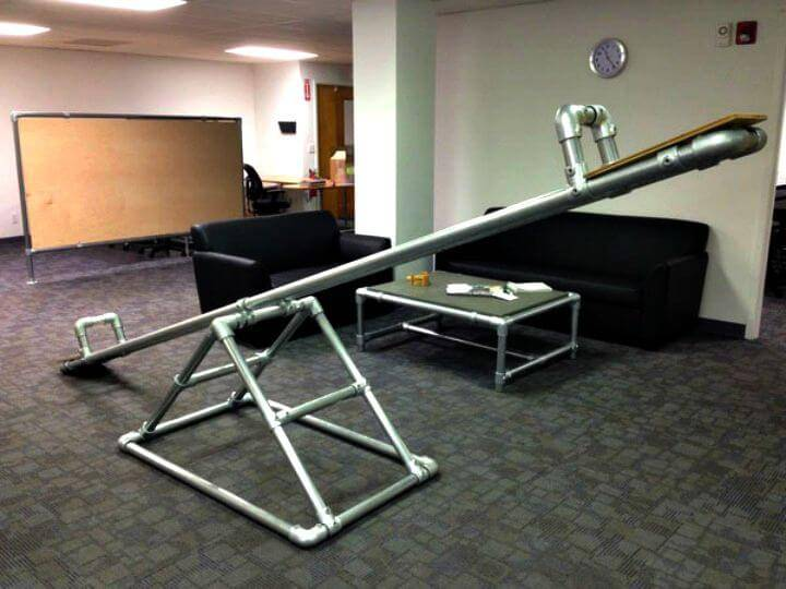 How To Build See Saw For Exercise - DIY Gym Equipment Projects
