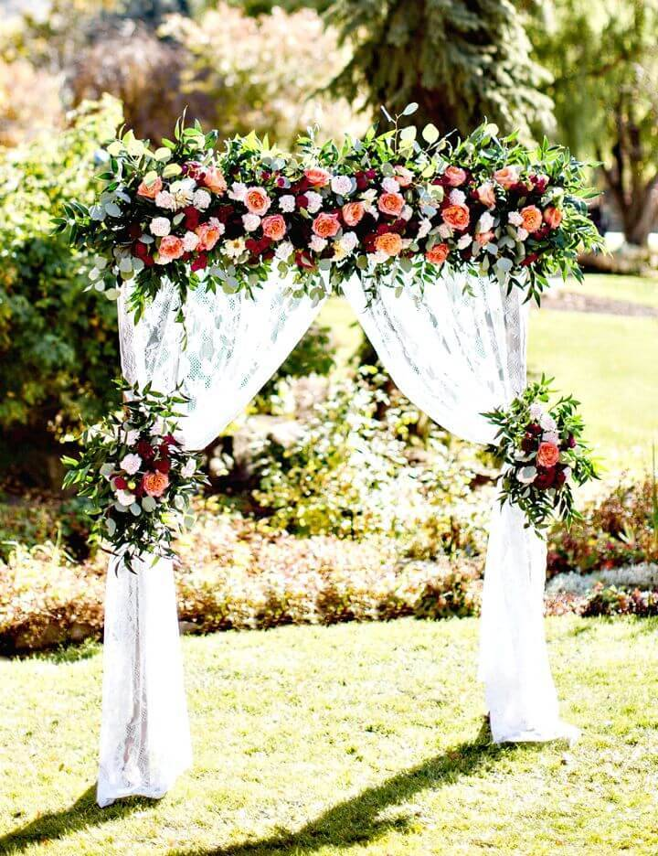 How To Build Wedding Arbor for Wedding - DIY