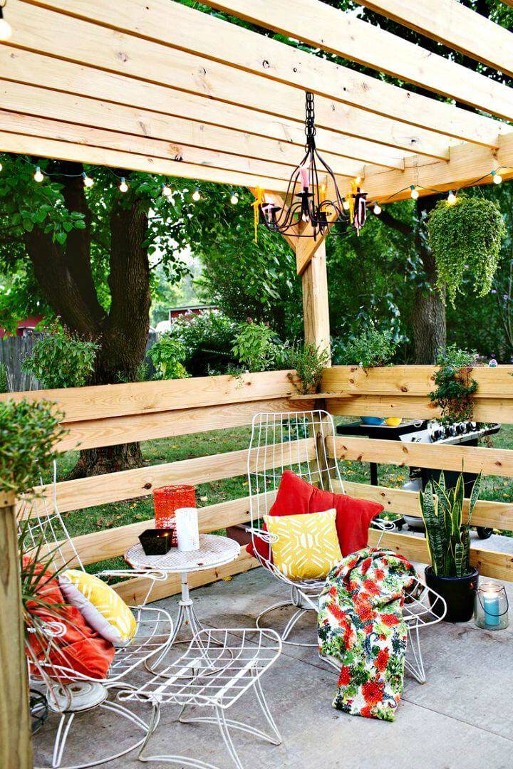 How To Build Your Own Pergola - DIY Plan