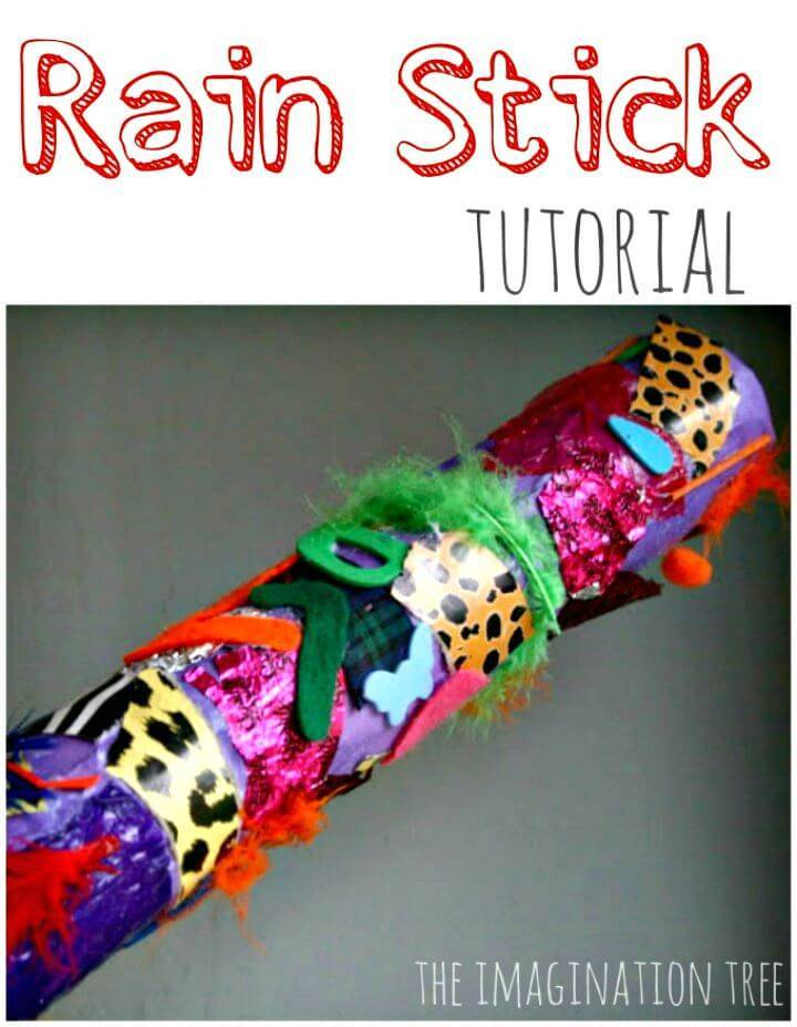 Easy and Cute DIY Rain Stick