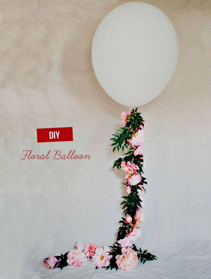 How To DIY Floral Balloon with Afloral for Summer Party Decorations