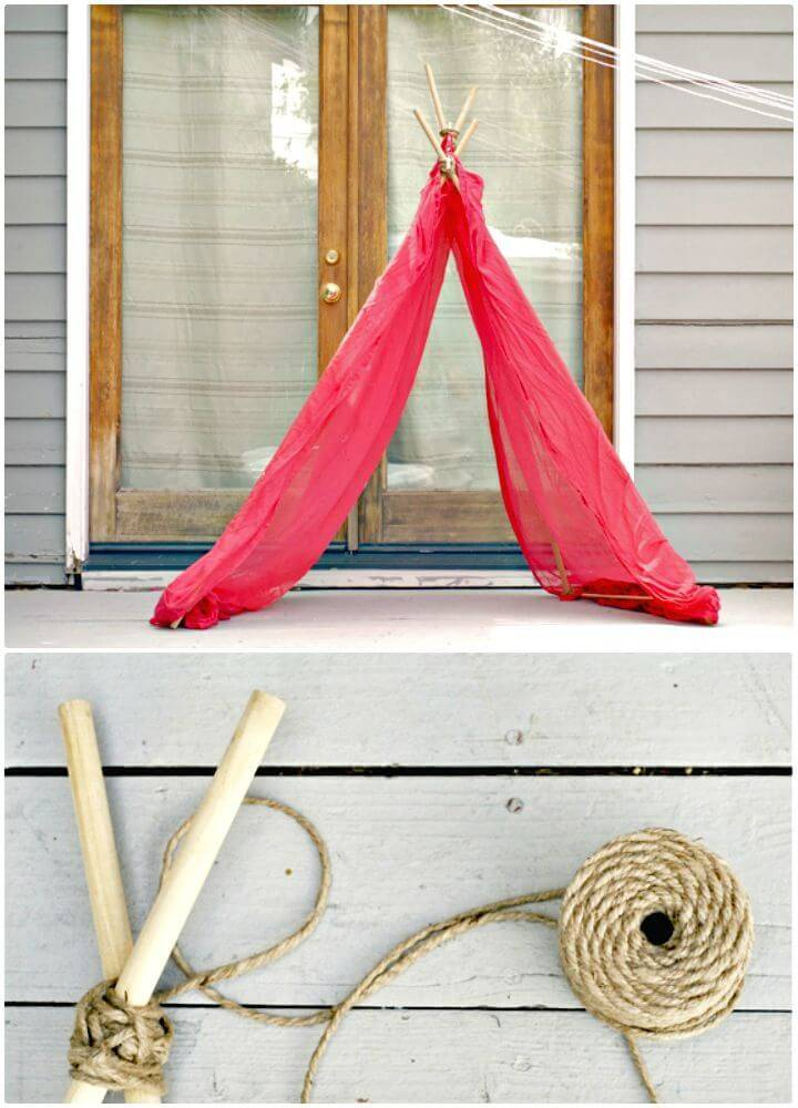 Make Your Own Fort - A Summer Project