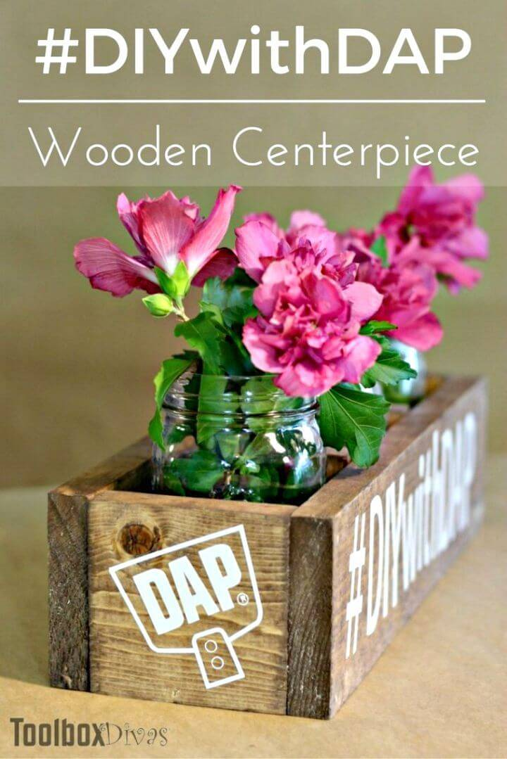 Make Your Own Wooden Centerpiece Box