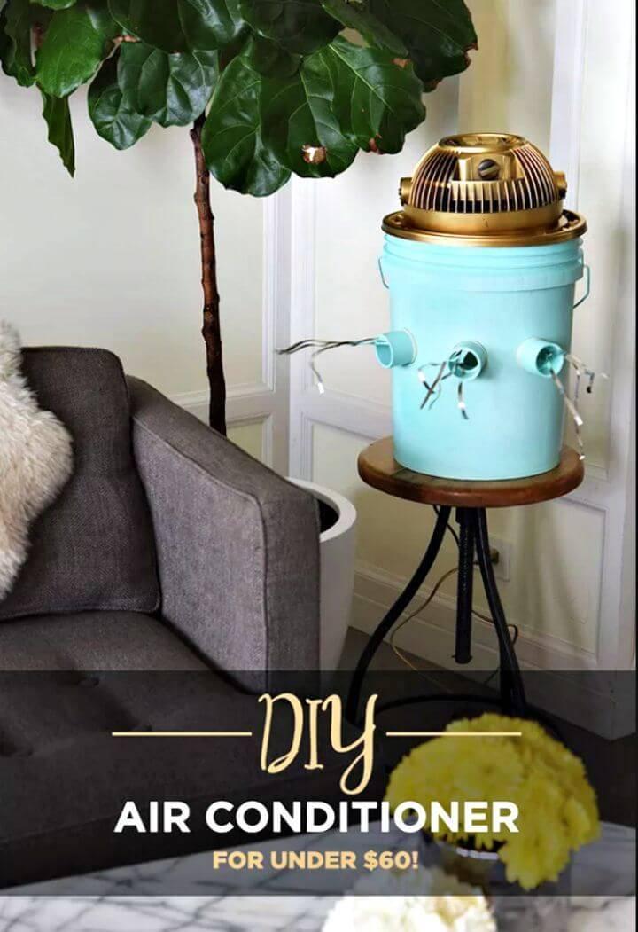 DIY Bucket And Table Fan Air Conditioner