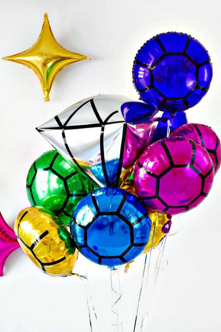 How to Create Your Gem Balloons - DIY