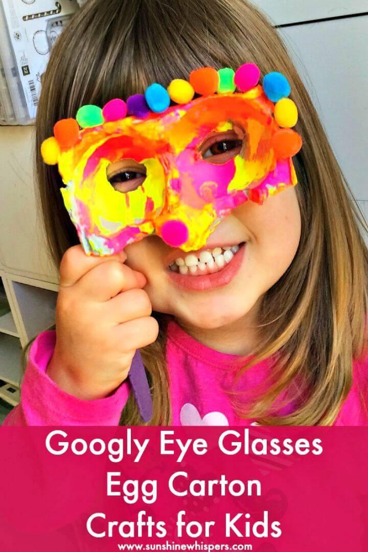 How To Make Googly Eye Glasses - DIY