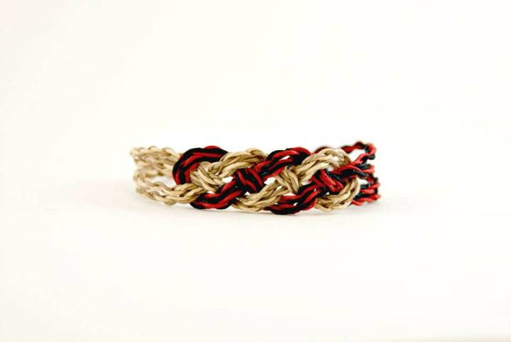 How To Make Infinity Knot Bracelet - DIY