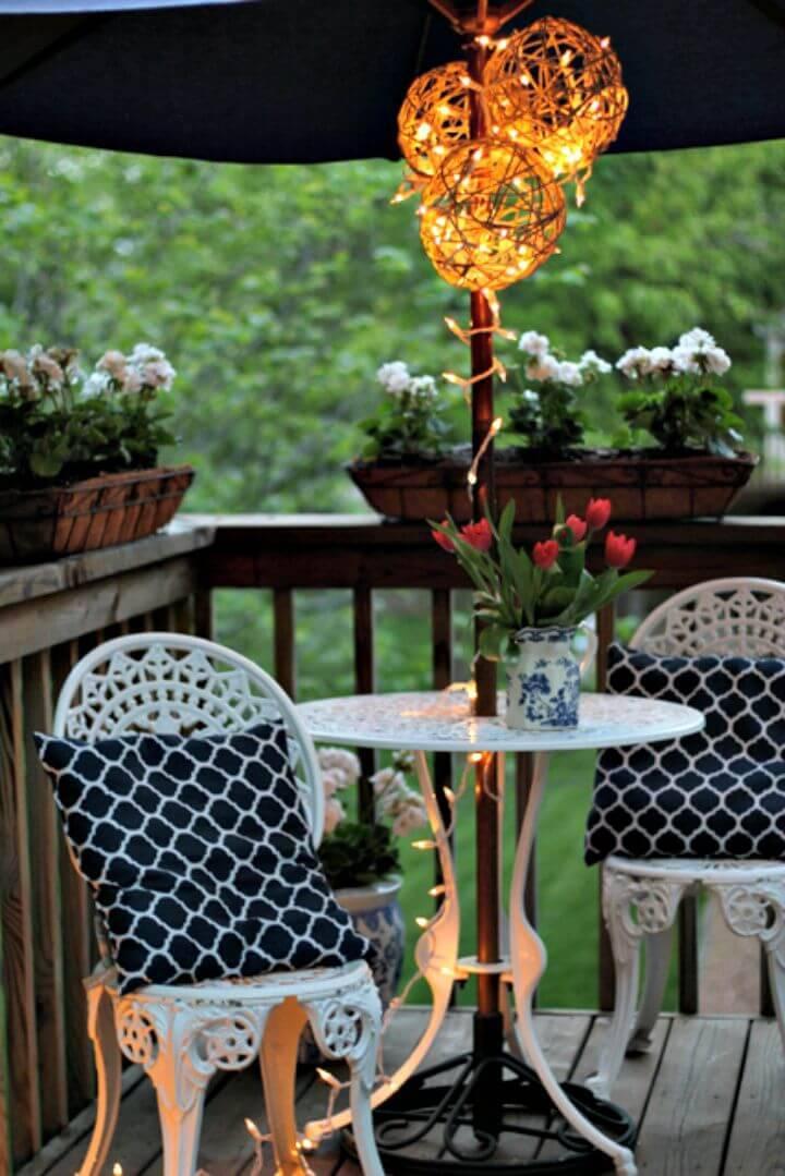 How To Make Lantern - Summer Part Decor