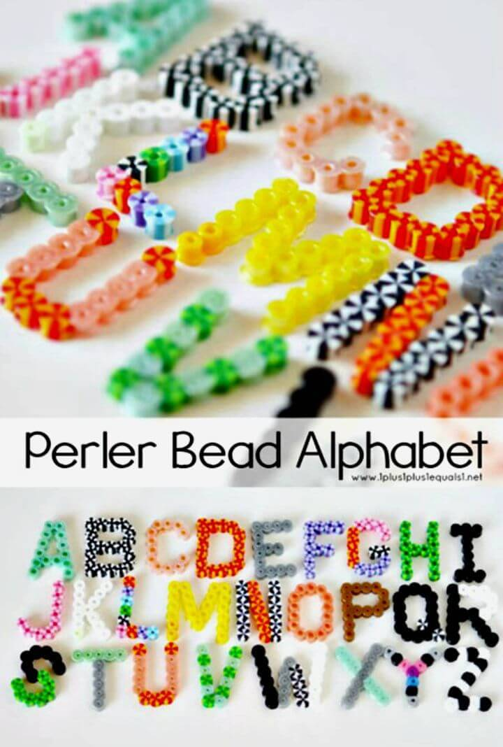 Make Your Own Perler Bead Alphabet