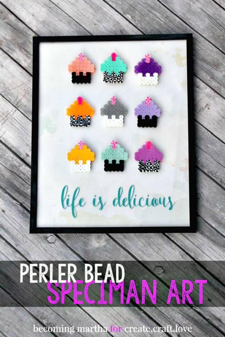 How To Make Perler Bead Art - DIY