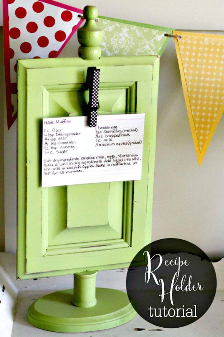 How To Make Recipe Holder Gift - DIY