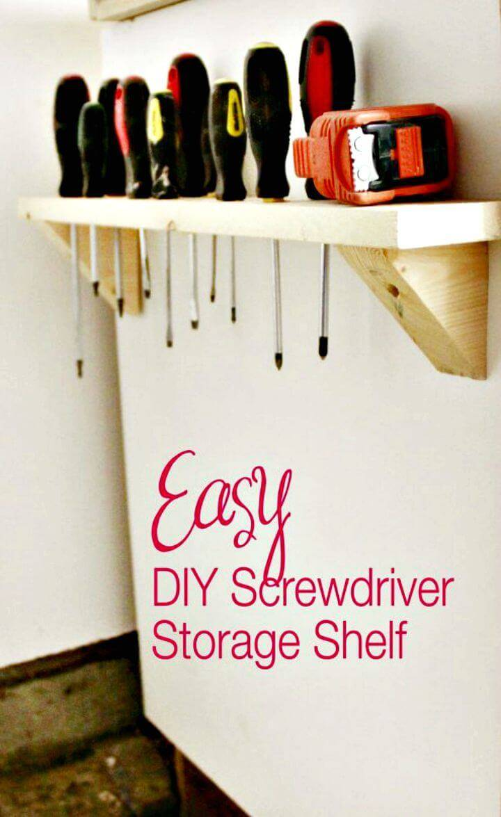 Make Your Own Screwdriver Storage - DIY