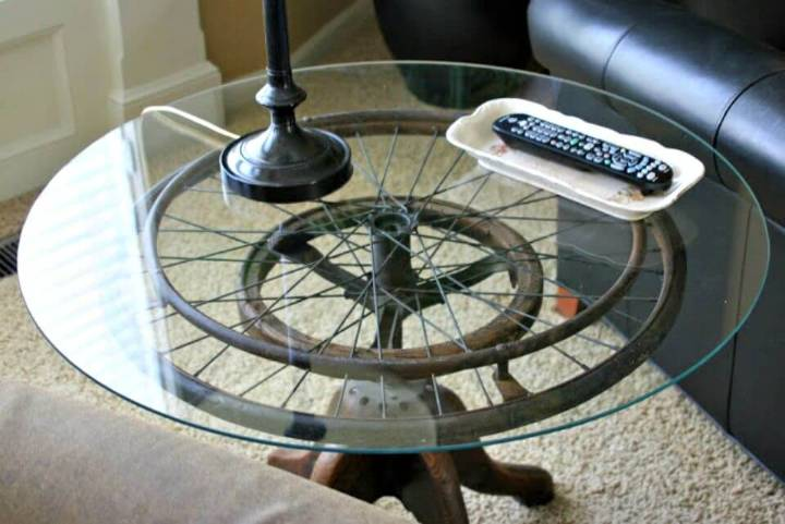 Simple DIY Wheelchair Wheel Table