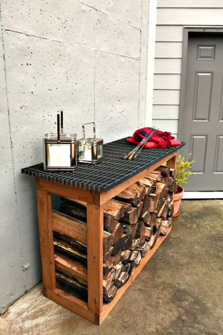 How To Make Wood Racked - DIY for Wood Storage