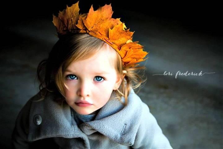 Cute DIY Crown Of Leaves Tutorial