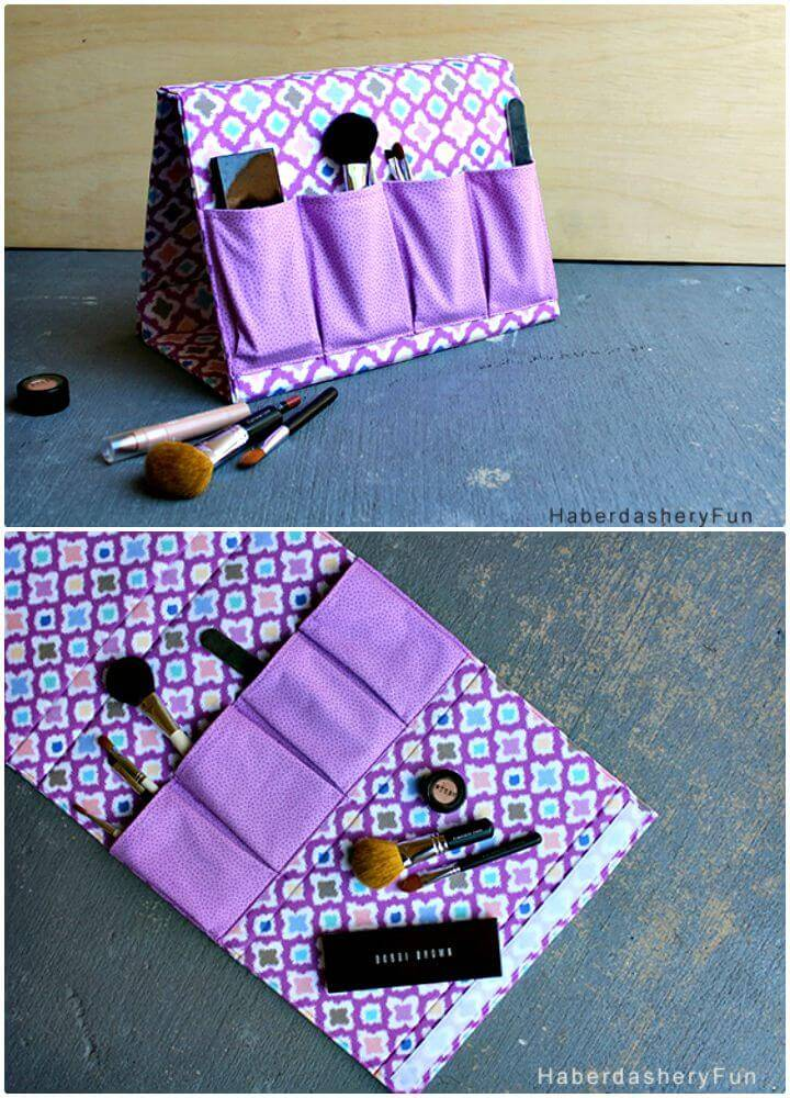 How To Sew Frame Organizer - DIY Makeup Organizer