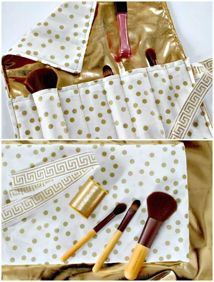 How To Sew Travel Makeup Organizer