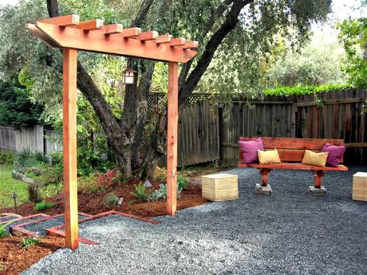 How to Build a Garden Arbor - DIY