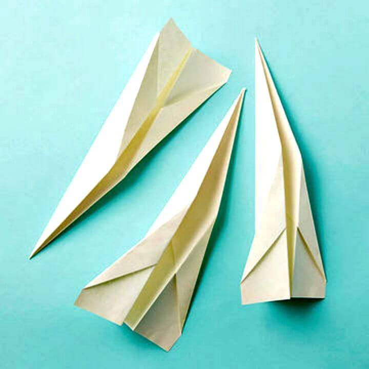 Simple DIY Paper Airplane Tutorial