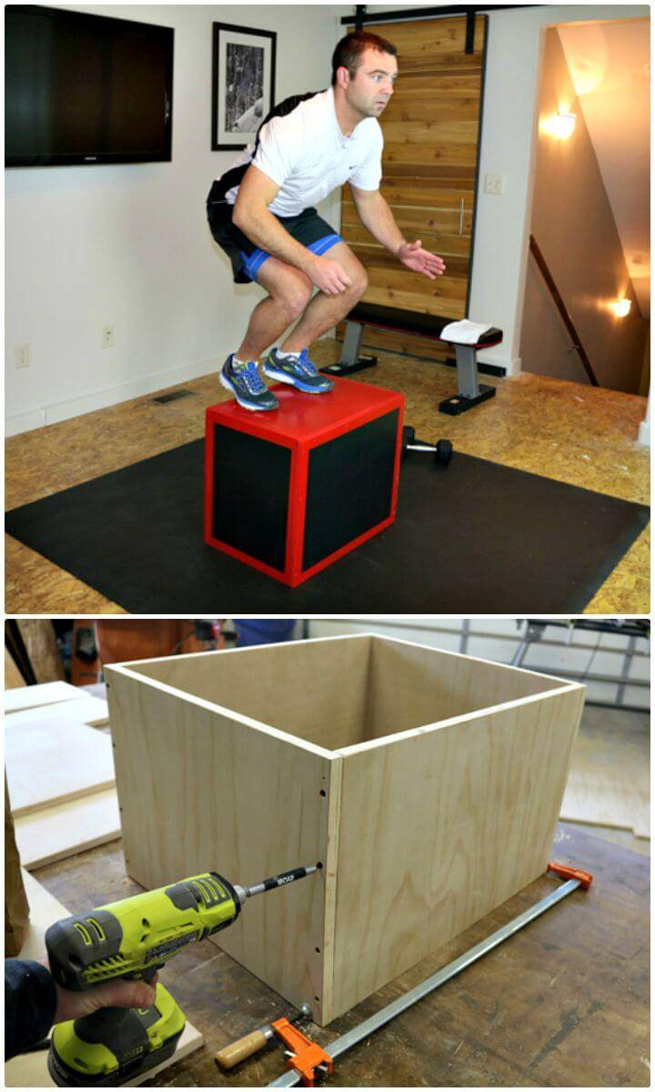 How to Make a Plyometric Box - DIY Gym Equipment Projects