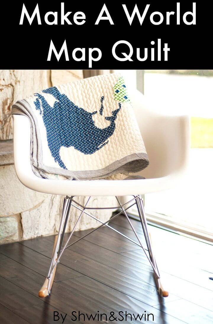 How to Make A World Map Quilt